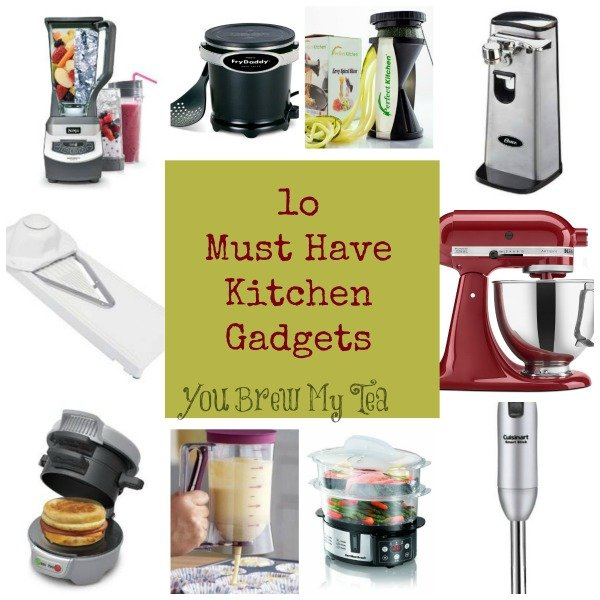 10 Must Have Kitchen Gadgets